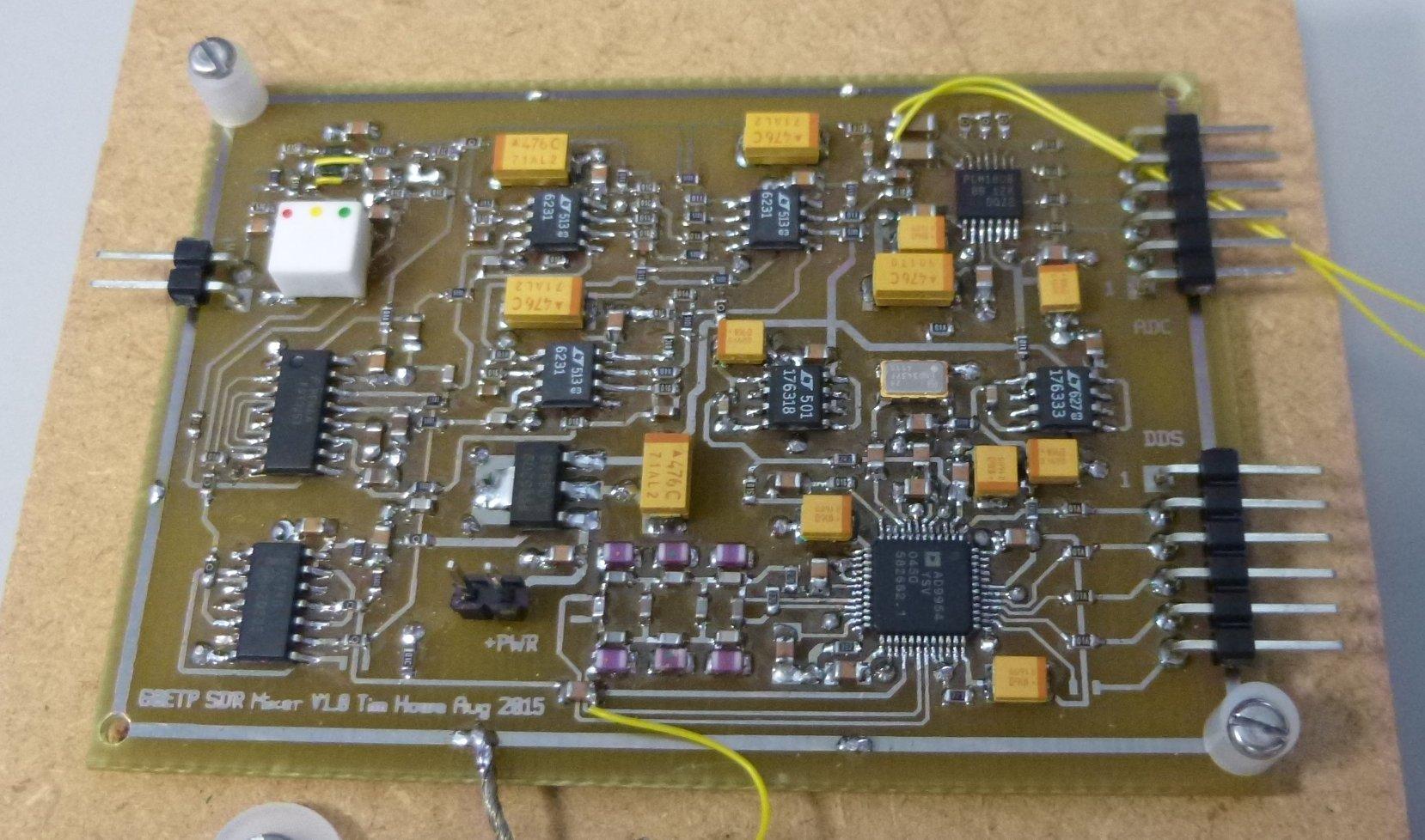 Tim Howe (G0ETP)'s Home Brew ARM-based SDR HF Rx