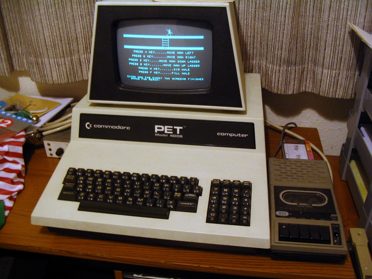 Tim\'s Commodore PET top page